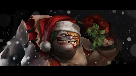 Dota 2 Obey Pudge santa pudge dota 2 wallpapers