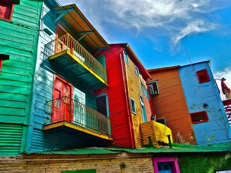 colorful neighborhoods  buenos aires argentina