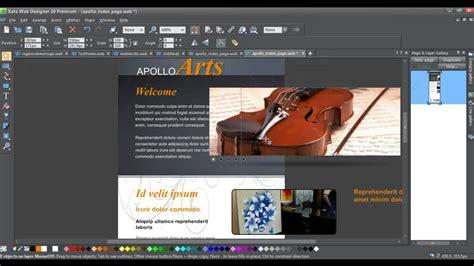 video tutorial xara web designer xara web designer mobile site tutorial youtube