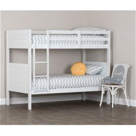 White Bunk Beds Australia Buy Single Single Bunk Bed White Graysonline Australia