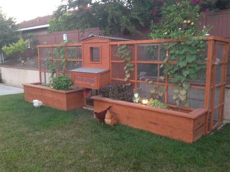 Symmetrical Garden Chicken Coop   Landscape   San Diego