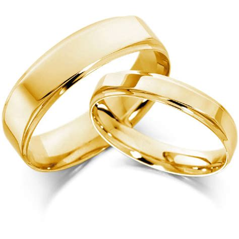 gold band yellow gold wedding ringcherry cherry