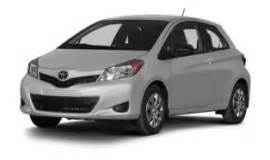 Toyota Yaris Weight Toyota Yaris Curb Weight By Years And Trims