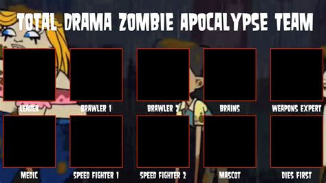 popular meme templates total drama apocalypse meme template by air30002 on