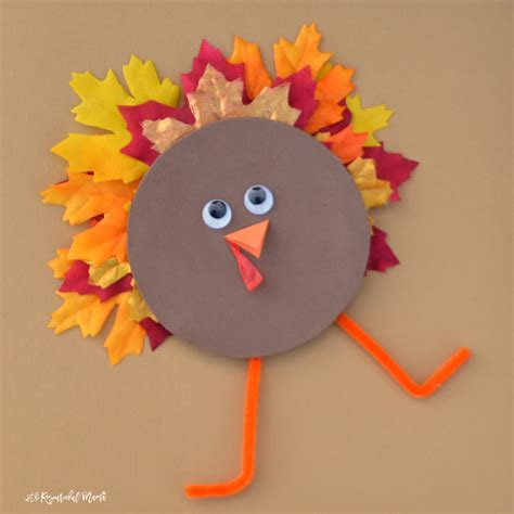 cd crafts for recycled cd turkey kid craft the resourceful