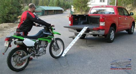 good motocross bikes how to load tie down a dirt bike into a pickup truck
