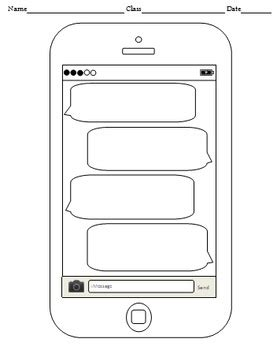 cell phone template blank cell phone templates 4 templates by handy teaching