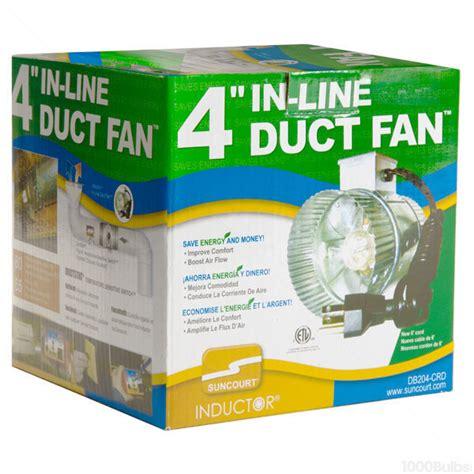 suncourt 6 inline duct fan in line duct fan 4 in suncourt scdf4