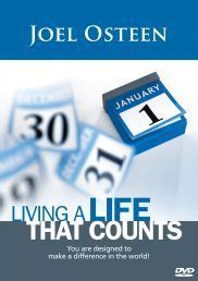a living canvas god s unfinished masterpiece books living a that counts dvd by joel osteen every day of