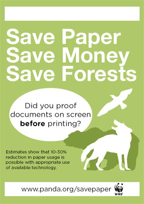 How To Make A Paper Poster - wwf posters the loch nell