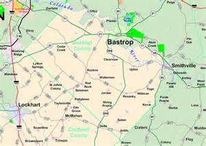 map of bastrop county maps