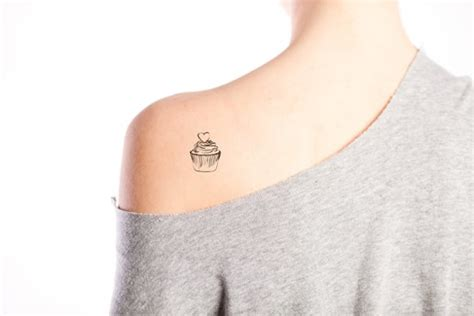 small cupcake tattoo 20 summer temporary tattoos design galleries