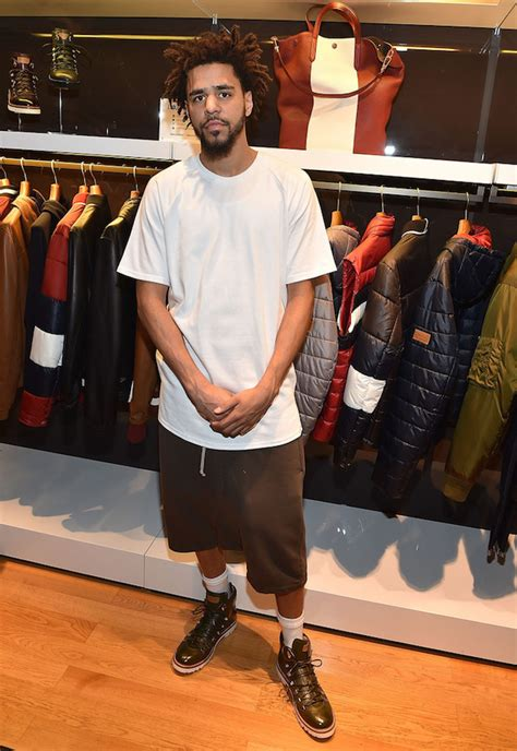 j cole hairstyle 2015 spotted j cole wears bally jc hiker boots in atlanta