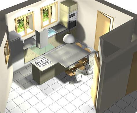 faire une 駑ulsion en cuisine cuisine ment construire un ilot de cuisine diy construire