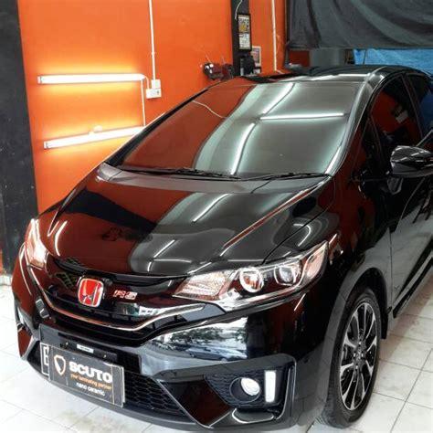 Scuto Palembang Laminating jual harga laminating mobil honda jazz pinassotte
