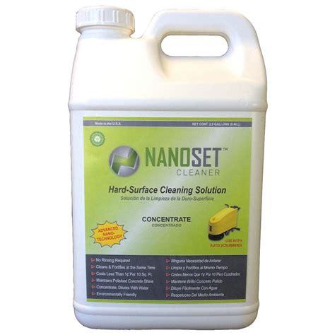 nanoset 2 5 gal surface and polished concrete