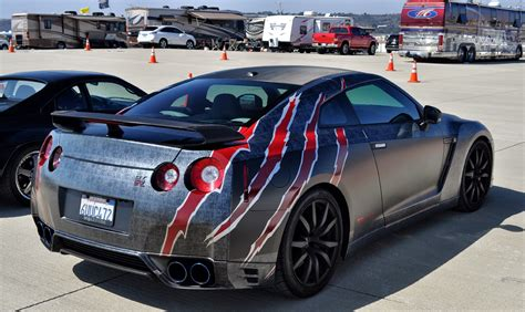 cool wrapped cars just a car guy godzilla with and without a scaly vinyl