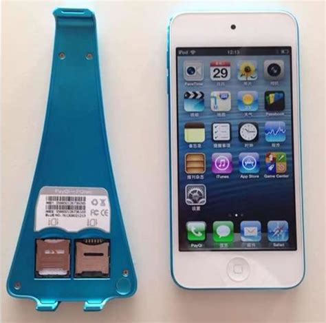 Play Store Without Sim Card Payqi 2 Dual Simcard Peel For Ipod Touch 5 No Need