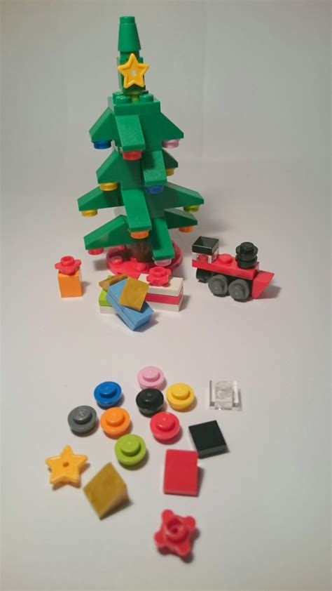 Lego 30286 Polybag Chrismast Tree lego tree 30286 review bouwsteentjes info