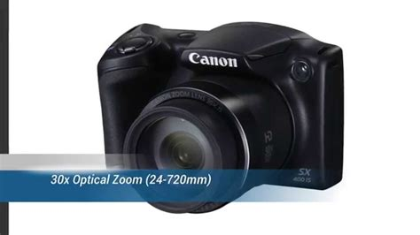 canon 30x zoom digital canon powershot sx 400 is 16 0 mp digital with 30x