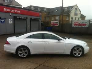 Used White Mercedes For Sale Used White Mercedes 2009 Diesel Cls 320 Cdi 4dr