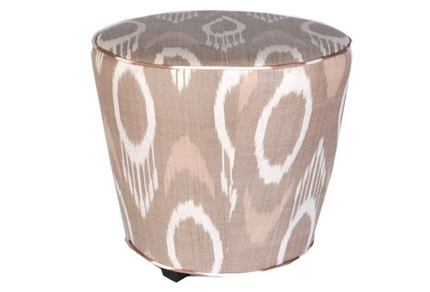 Ikat Ottoman Beiges And Whites Second Shout Out Ikat Ottoman