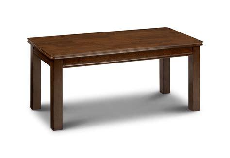 Sleek Coffee Table Sleek Mahogany Finish Coffee Table