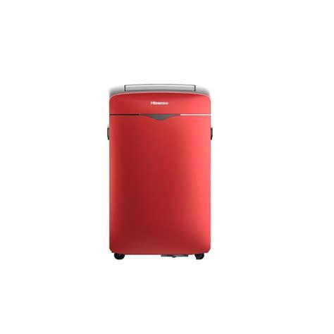 Hisense 10,000 BTU 300 sq ft Portable Air Conditioner RED AP 10CR1SEP R