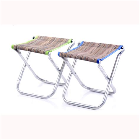 portable aluminum folding chair stool outdoor fishing