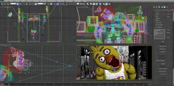 Fnaf anniversary chica jumpscare by frankbuscus1 on deviantart