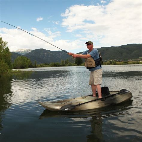 2 person fishing boat fishing kayak boat 10 camouflage 2 person sport fisher