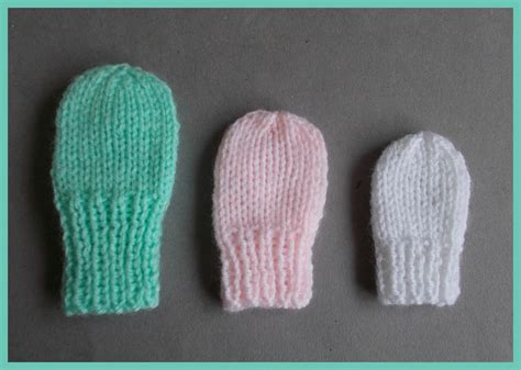 knitting pattern baby mittens marianna s lazy daisy days simple baby and preemie baby