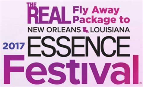 Real Sweepstakes To Enter - the real essence festival trip sweepstakes