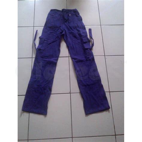Celana Senam Cargo Ungu Size M baju senam aerobik celana senam cargo panjang