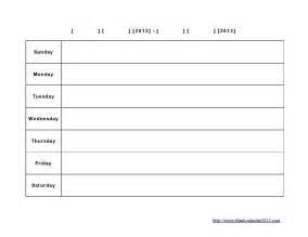 customizable calendar template 2014 one week calendar template word week agenda template