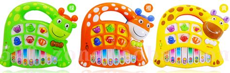 Set Kasur Bayi Lucu Orange Giraffe lovely giraffe puzzle electronic piano toys orange jakartanotebook