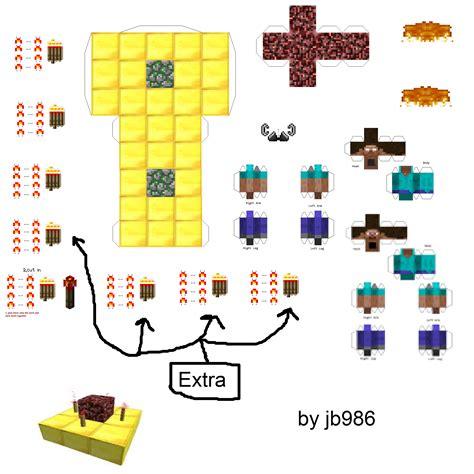 Make Papercraft - papercraft herobrine spawner