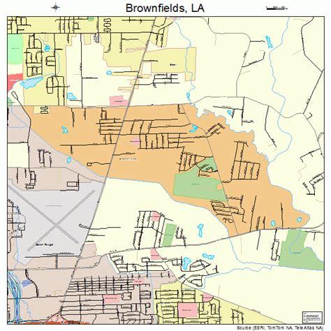 brownfield map brownfields louisiana map 2210145