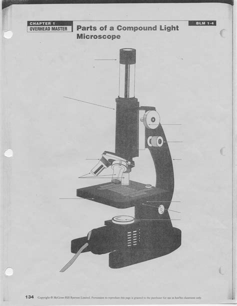 Parts Of A Light Microscope by Cells Tissues Organs And Organ Systems