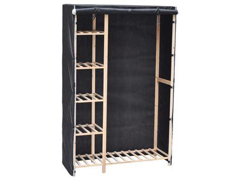 armoire en tissu conforama etagere metal avec housse