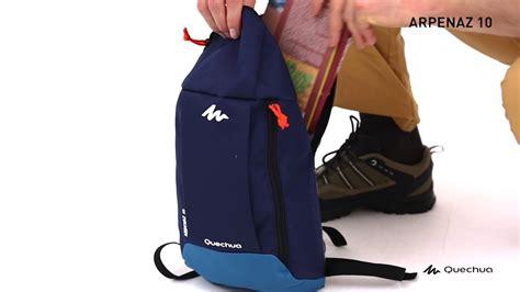 Quechua Arpenaz 10 Small Backpack quechua arpenaz 10 litre hiking backpack 8331382