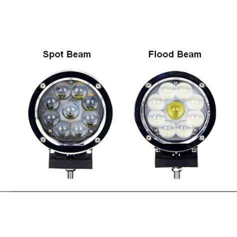 Cree Work Light Oval Lensa Ring 20 Watt 45w 60w cree led work light offroad driving light fog auxiliary l jeep boot yacht 12v 24v