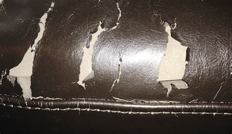 peeling leather couch repair what product s do i use to repair peeling bicast leather