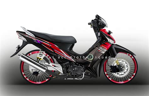 Striping Variasi Honda Supra X Dan Supra Fit One motor supra fit 2017 2018 best cars reviews