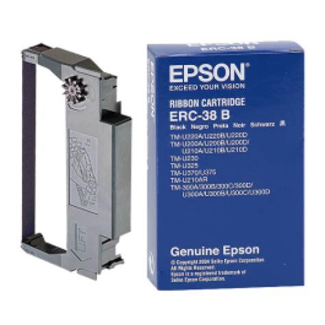 Ribbon Cartridge Pita Epson Erc 38b epson erc 38b black fabric ribbon