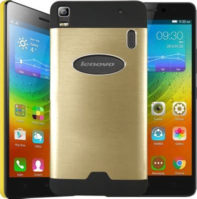 Lenovo A7000 By Merry K Shop lenovo a7000 aluminium metal back cover gold motomo