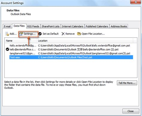 Office 365 Outlook Personal Folders How To Rename Personal Pst Folders In Outlook