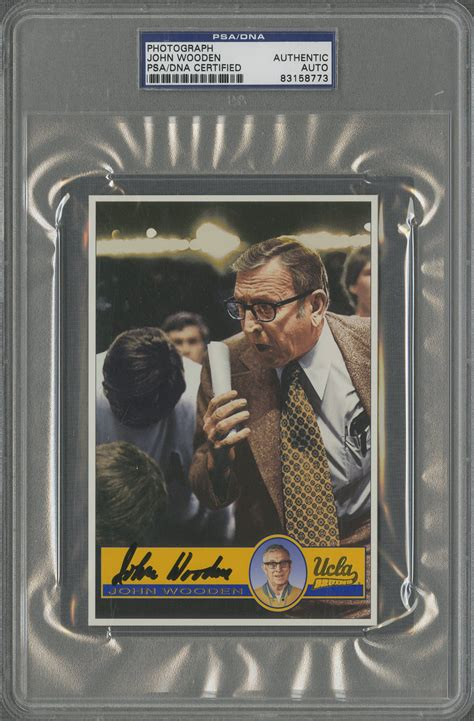 Ucla Gift Card - lot detail lot of 32 bill walton and john wooden signed ucla oversized cards