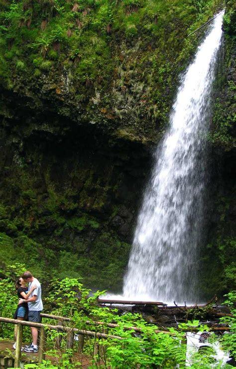 Bench Plaque Latourell Falls Loop A2 Curious Gorge Blog