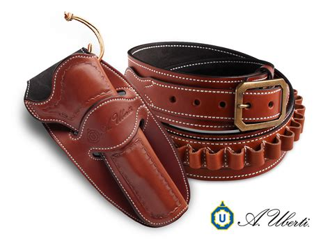 a uberti introduces desperado gun leather holsters and